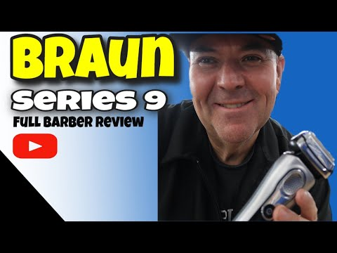 Braun Series 9 Full Review  by a Barber
