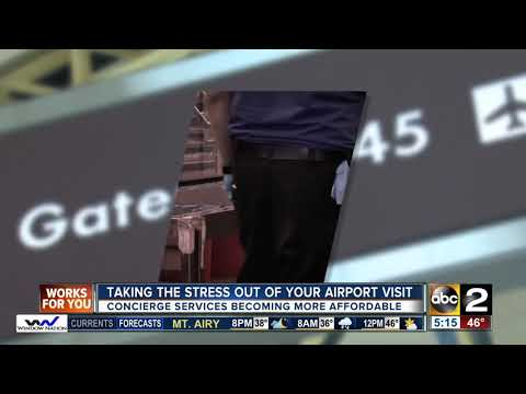Airport concierge services make flying less stressful for passengers