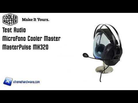 [Test Audio] Microfono Cooler Master MasterPulse MH320