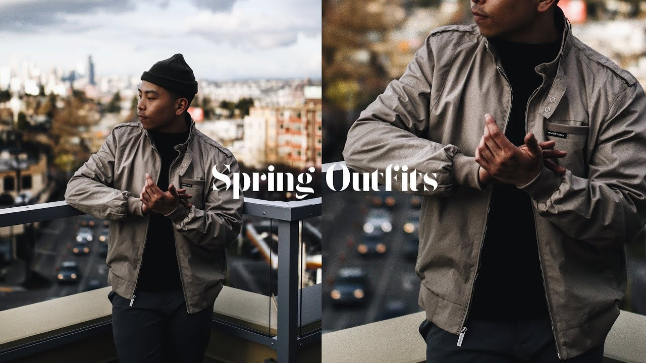 [VIDEO] - Spring Outfit Ideas For Men / Spring Lookbook 2