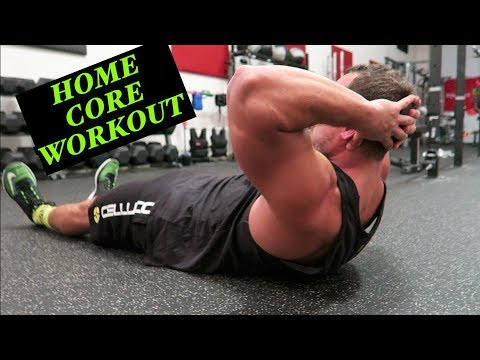 Intense 5 Minute At Home Core Workout