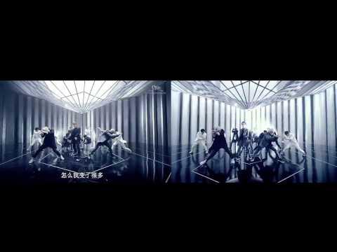MV Compare  Exo-K VS Exo-M Overdose! (sound exo-k) HD