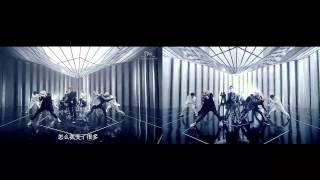 MV Compare  Exo-K VS Exo-M Overdose! (sound exo-k) HD