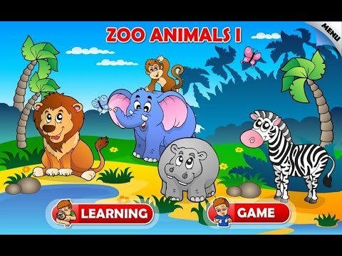 Zoo and Farm Animals for Kids