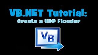 vb net tutorial create a udp flooder and website ip grabber visual basic 2010 express