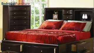 Coaster Phoenix Platform Storage Bedroom Set