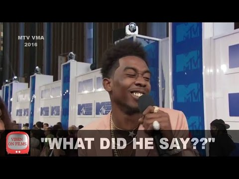 Desiigner MTV VMA 2016 Interview