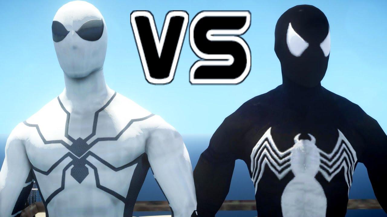 f1da42329 Spiderman (Future Foundation) vs Symbiote Spider-Man - YouTube