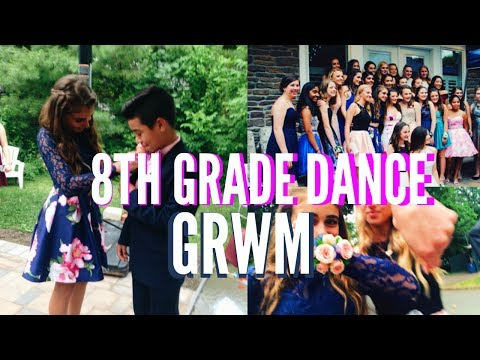 GRWM | 8TH GRADE DANCE + Pictures
