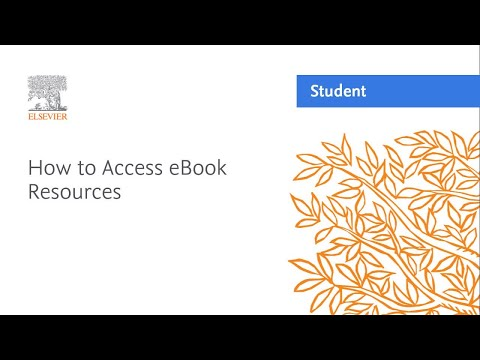 How To Access EBook Resources