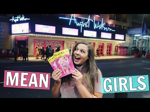 Seeing MEAN GIRLS on Broadway in NYC! Stage Door, Review & Playbill Giveaway!