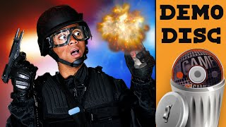 One of Funhaus's most viewed videos: Get SWATTED! - Demo Disk Gameplay