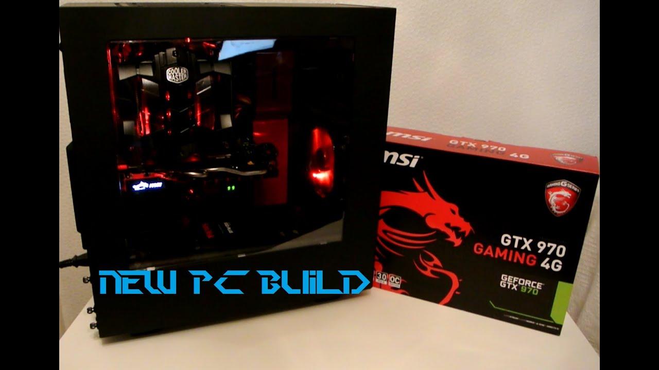 Building a New Gaming PC ! MSI Z170A / MSI GTX 970 / i5 6600k