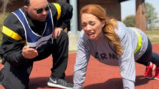 I FAILED THE ARMY FITNESS TEST - ARMY PFT