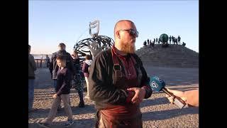 Талисман Днепра изготовили кузнецы на Kovalfest