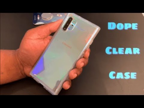 Tech21 Pure Clear Case for the Samsung Galaxy Note 10 Pro   Dope
