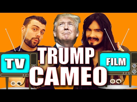 Irish People Watch President 'TRUMP CAMEOS' on Film & TV!!
