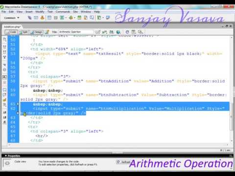 How to Perform Arithmetic Operation using PHP Dynamically