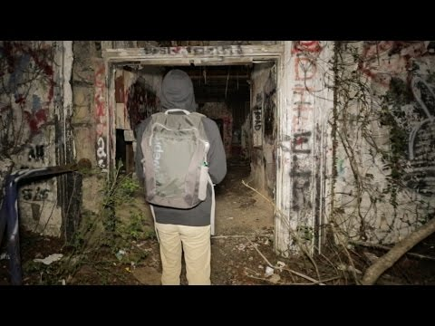 Scary Encounter at Abandoned Asylum at Night