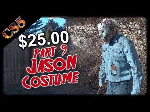 $25.00 Jason part 9 Costume Tutorial (Jason Goes to Hell) CS5's Cost Cut Costume Tutorials