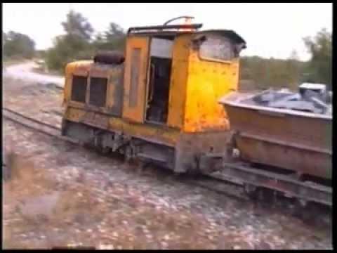 Ardoisieres D'Angers; 600mm Railway At Trélazé, France.