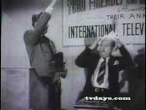 INTERNATIONAL BURLESQUE PART 1 1948 EARLY TV COAXIAL CABLE