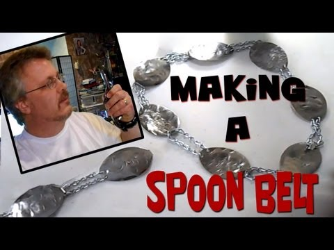 Spoon Jewelry Belt