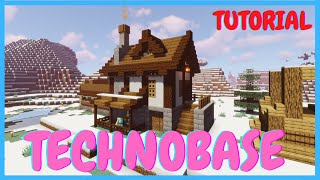 How to Build Technoblade&#39s Home (Dream SMP Tutorial 9)