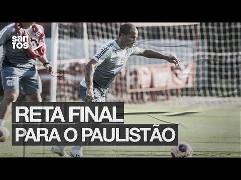 A RETA FINAL DE PREPARAÇÃO DO #SANTOS PARA A VOLTA DO PAULISTÃO