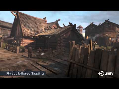Unity 5 Demo Scene: Viking Village