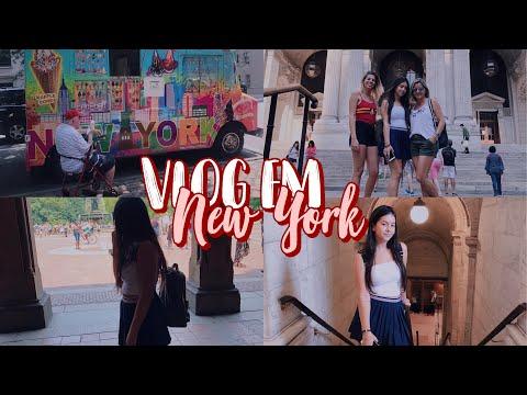 VLOG EM NYC - ep 6  Nathália Jackeline