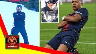 ManUtd News - Beckham mimics United nemesis while on skiing holiday
