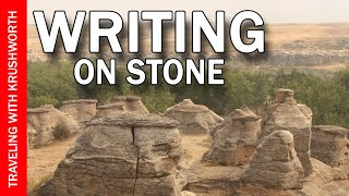 Tour Writing-on-Stone Provincial Park Alberta travel video guide; Canada tourism attractions
