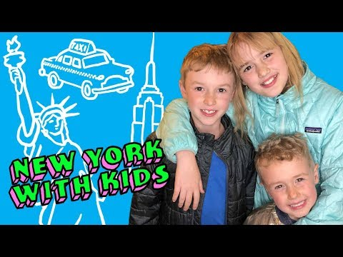New York with Kids - Family Travel Vlog