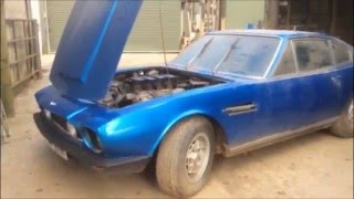 Aston Martin V8 barn find in the CCA March Sale