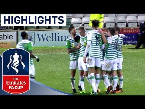 2 Red Cards in a 5 Goal Thriller! | Yeovil Town 3 - 2 Port Vale | Emirates FA Cup 2017/18