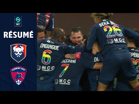 Caen Clermont Goals And Highlights
