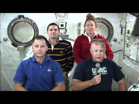 STS-135 Flight Day 7 Interviews, Part 2