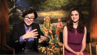 Moonrise Kingdom - Jared Gillman & Kara Hayward Interview (JoBlo.com)