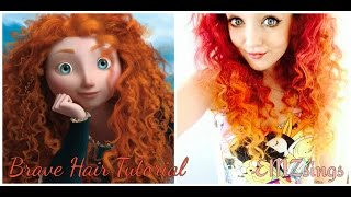 Scottish Girl Makes Her Hair Look Like Merida from Brave | EMZsings
