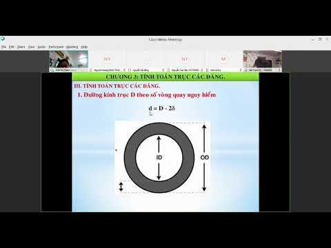 hướng dẫn bài tập tính toán trục các - đăng ô tô