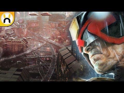 Judge Dredd: Mega City One FIRST LOOK Concept Art