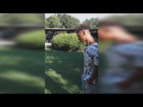 VIDEO: Arlington Police Arrest Teen For Vehicle Burglary
