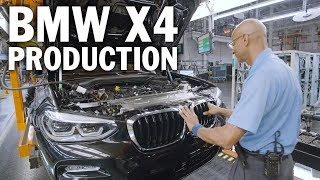 BMW X4 Production, Spartanburg