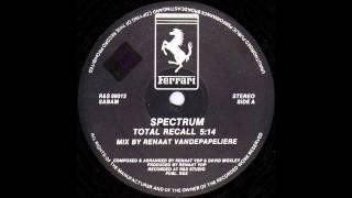 Spectrum - Total Recall (New Beat Mix) (1988)