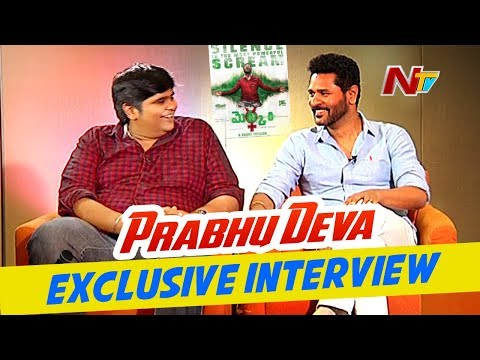 You're Going To Experience Best Silent Film: Prabhudeva | Karthik Subbaraj | Mercury Movie | NTV