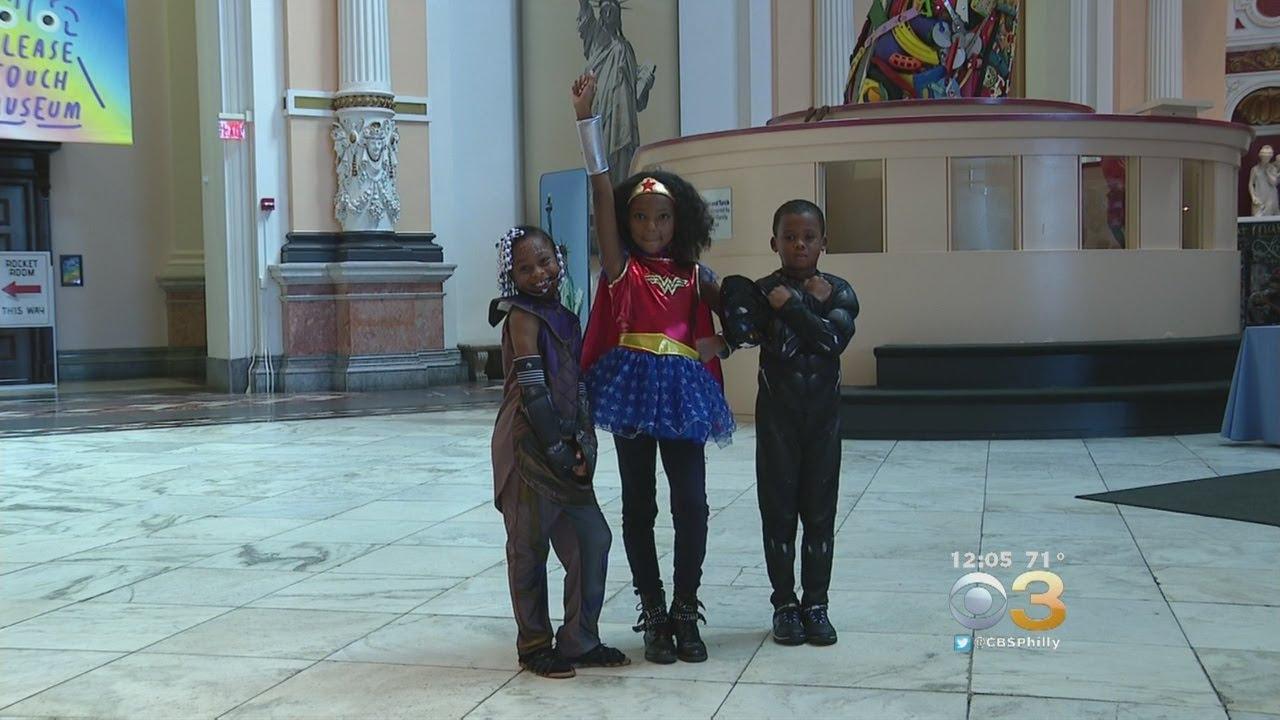 Children Enjoy Superhero Sunday At Please Touch Museum