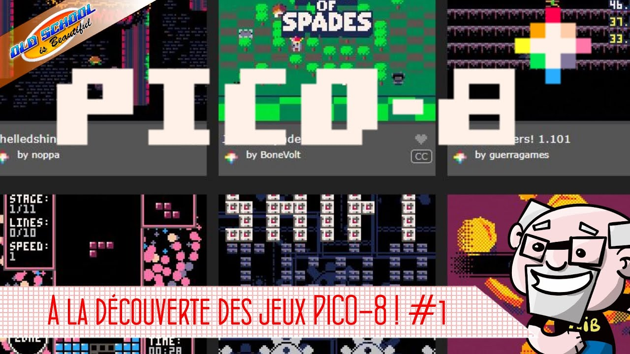 21 jeux PICO-8 plus originaux les uns que les autres !