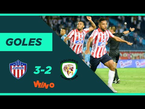 Junior vs. Jaguares (3-2) | Liga BetPlay Dimayor 2020-I - Fecha 7
