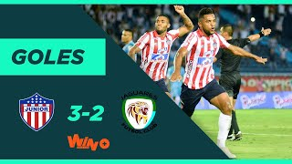 Junior vs. Jaguares (3-2) | Liga BetPlay Dimayor 2020-I - Fecha 7